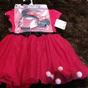 Minnie mouse dress with ears